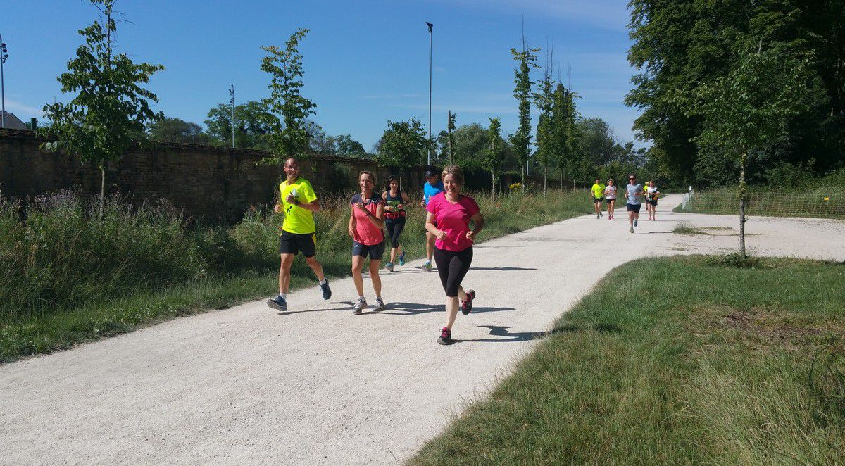 Footing présentation avec Run Together Dijon