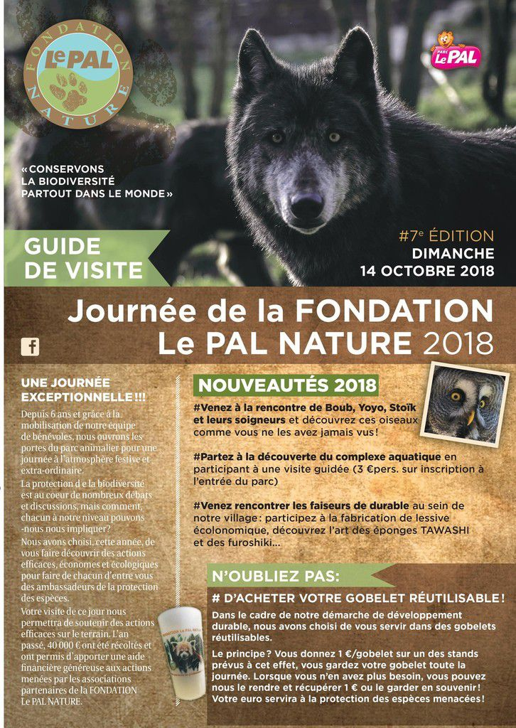 Journée Fondation Le Pal Nature 2018