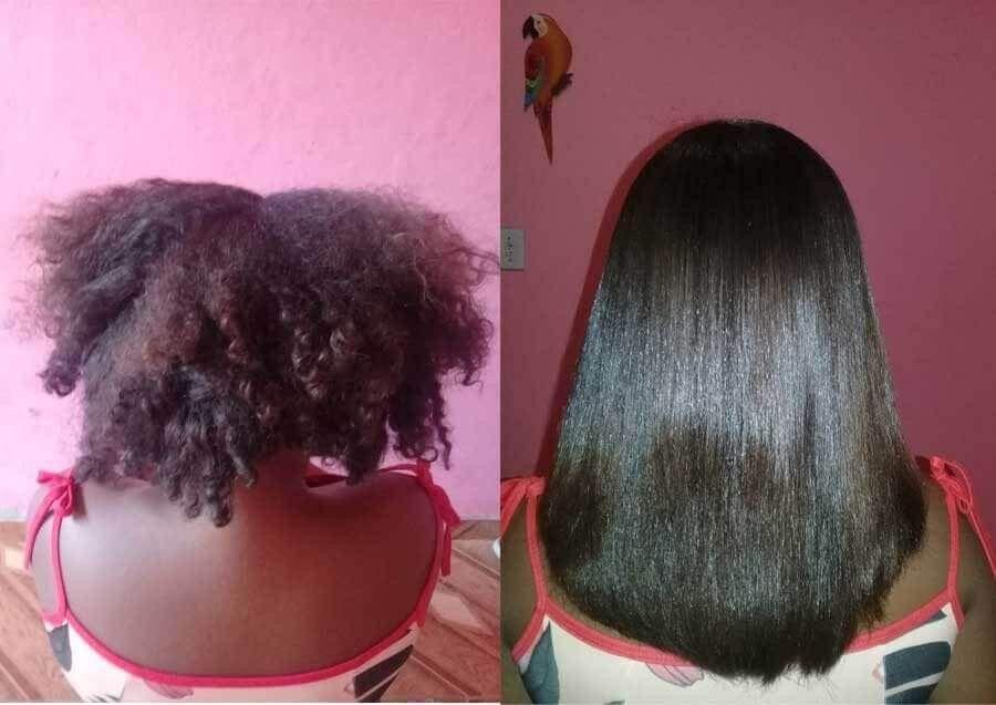 Soin pour cheveux boucles abimes