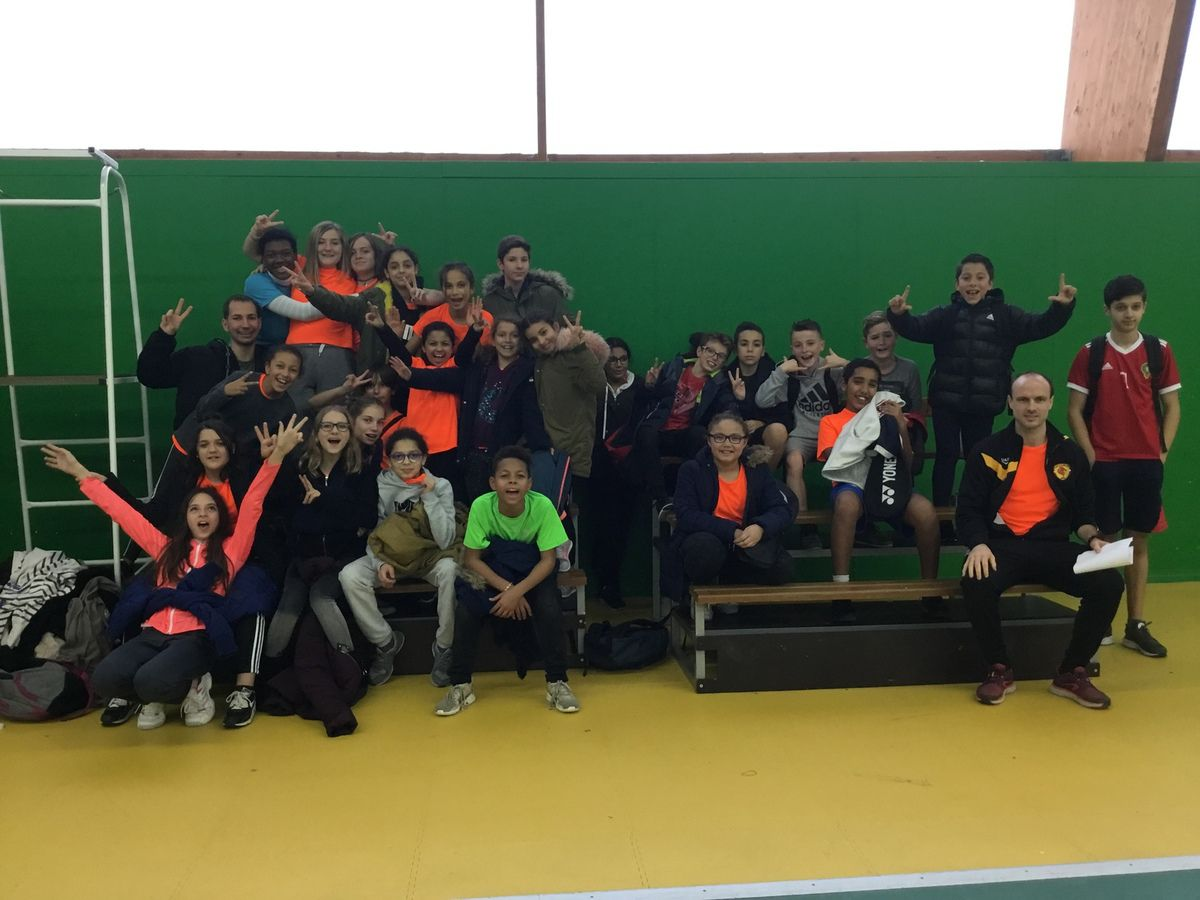 Résultats Badminton - J2 Bédarrides - 19/12/2018
