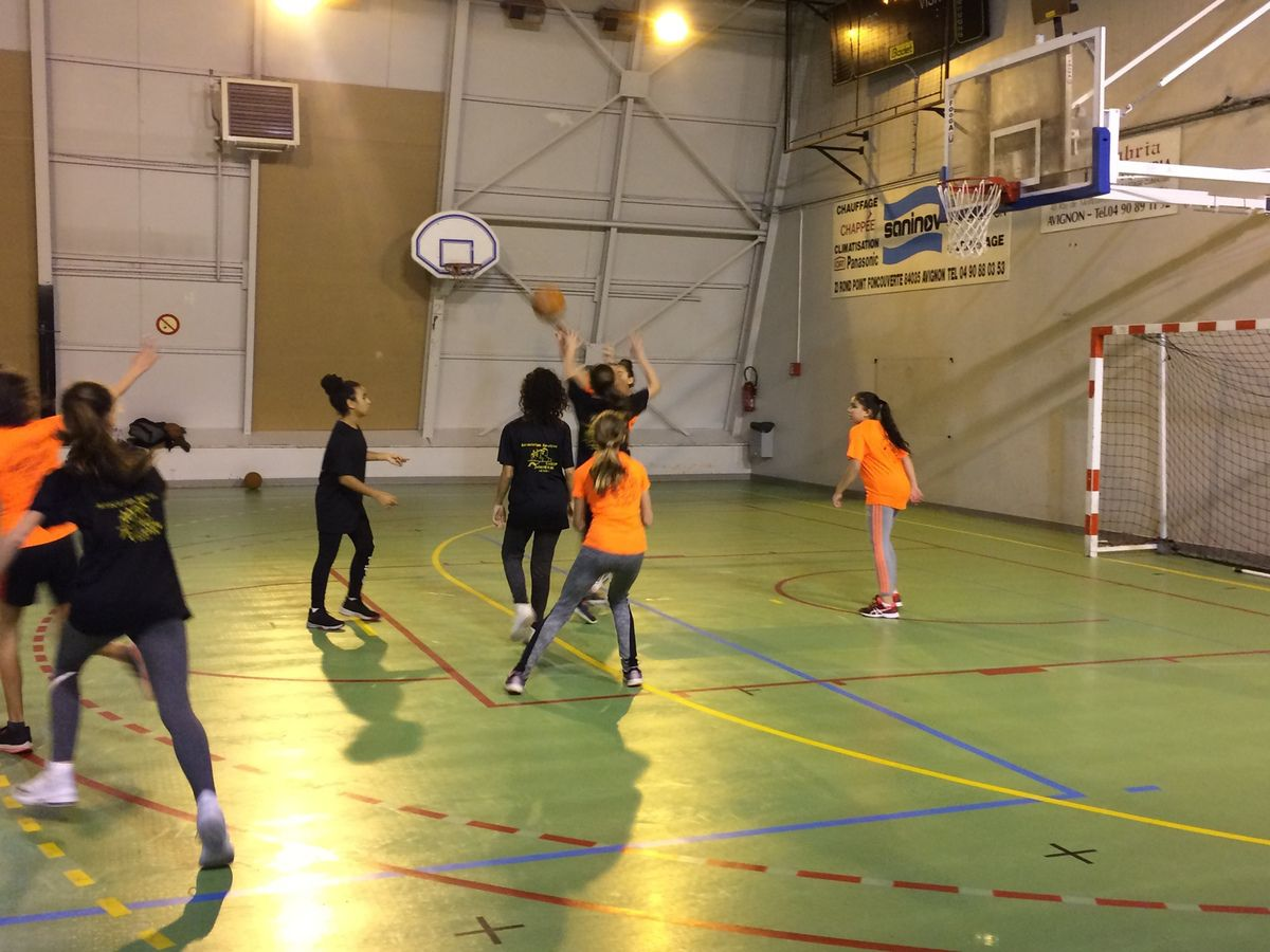 As basket : 1ère compétition amicale du mercredi 19 décembre 2018
