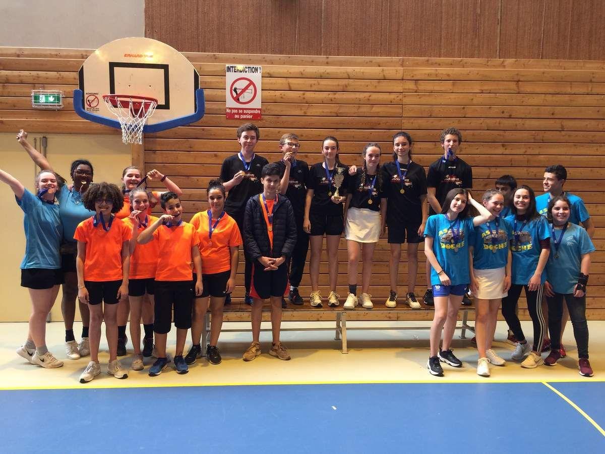 Le Badminton de Voltaire qualifié : championnat académique on arrive