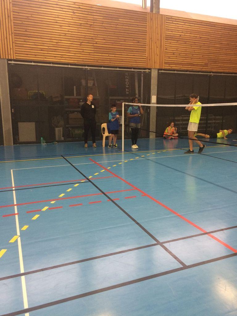 Le Badminton de Voltaire réalise la passe de 8!