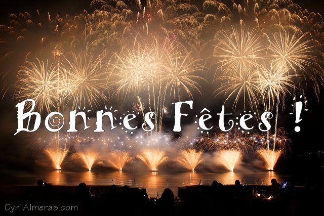 Bonnes fêtes de fin d'année à tous !!