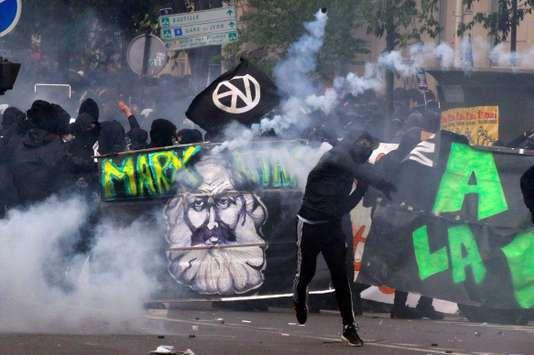 Paris, 1er mai 2018 : Centralien, fille de directeur financier... Qui étaient les 14 500 Antifas, Black Blocs, Anars, tous d'extrême-gauche, devant le cortège ? & Tout sur les Black Blocs