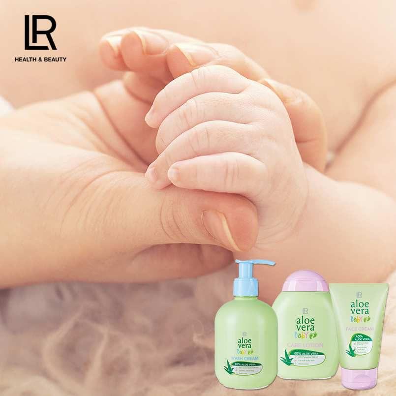 Set Aloe Vera pour bébé
