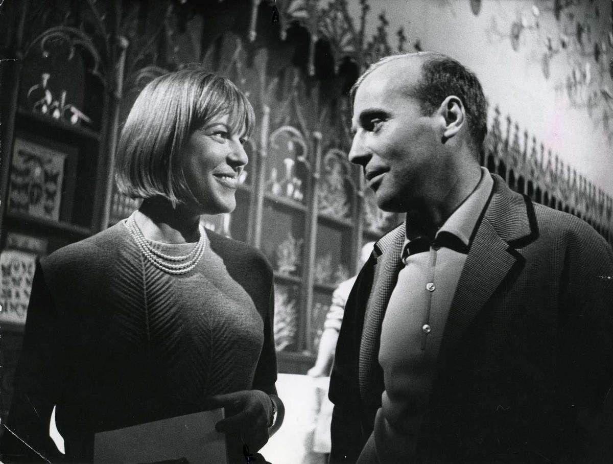 Ingeborg Bachmann avec Hans Werner Henze en 1952