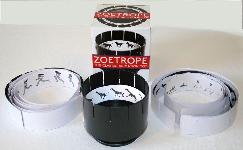 À la découverte des jouets optiques, le zootrope