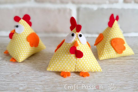 patron gratuit couture doudou poulet