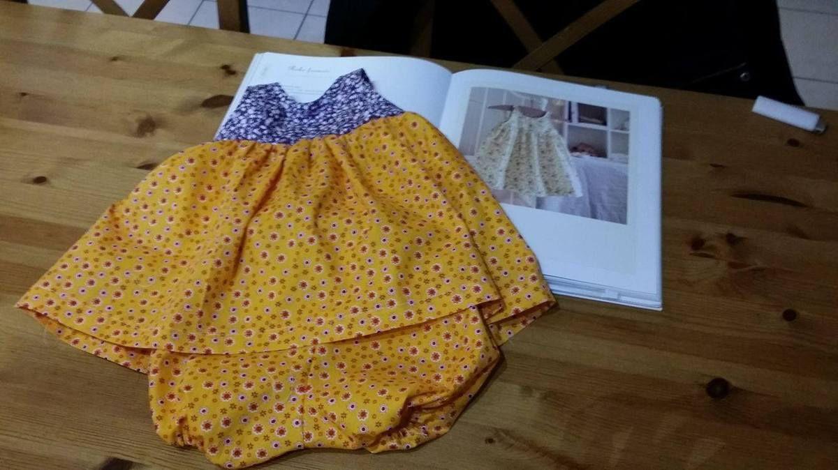 patron couture gratuit bloomer bébé