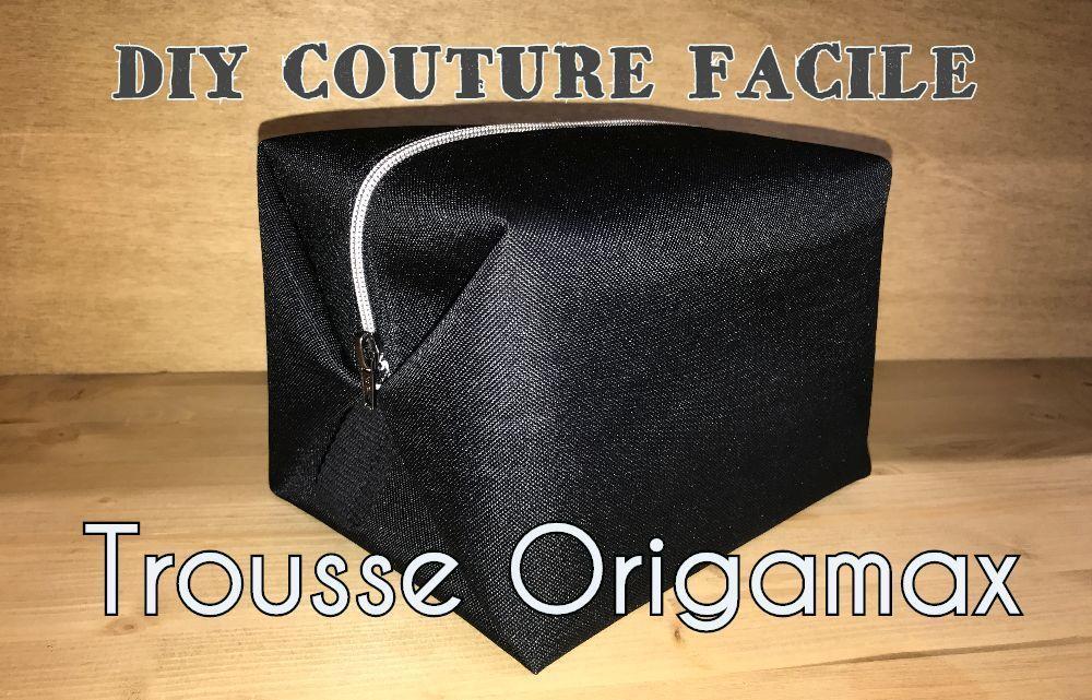 patron couture gratuit trousse de toilette Origamax