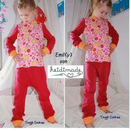 Patron couture gratuit pyjama bébé et enfant