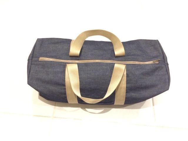 patron couture gratuit sac de sport ou de voyage