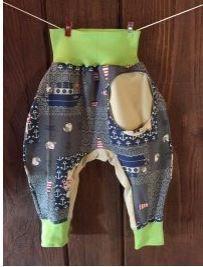 Pantalon couture gratuit sarouel pour bébés et enfants