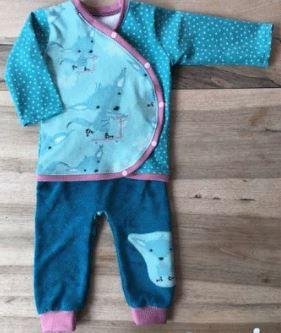 Kit de naissance : brassière et pantalon