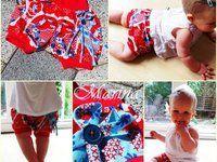 Patron couture gratuit short bloomer pour bébés et enfants