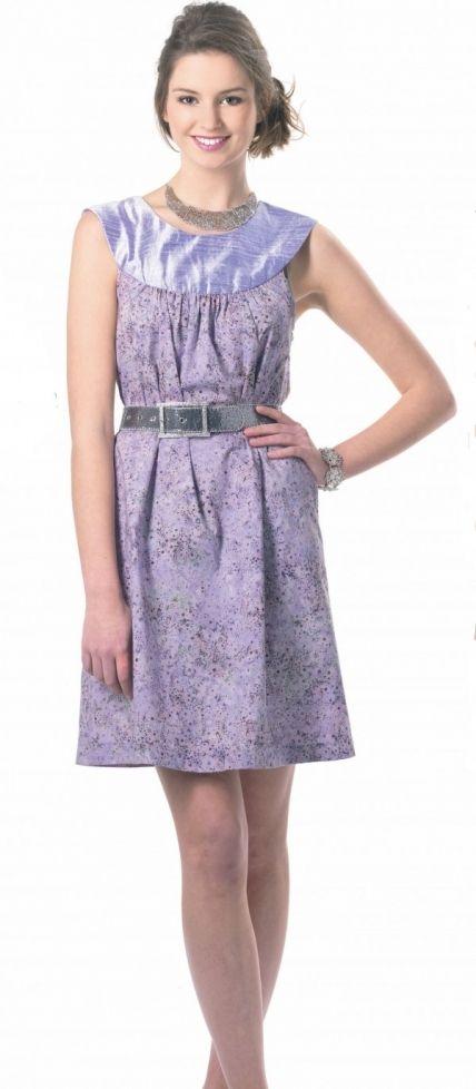 Patron couture gratuit robe Freya