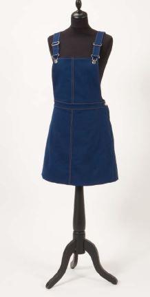 Patron couture gratuit robe salopette