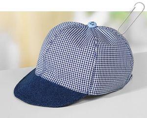 Patron et tutoriel couture gratuits casquette pour enfant
