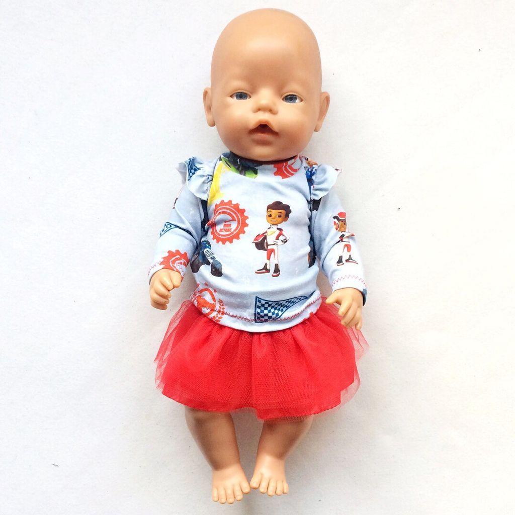 T-shirt et pantalon pour poupée
