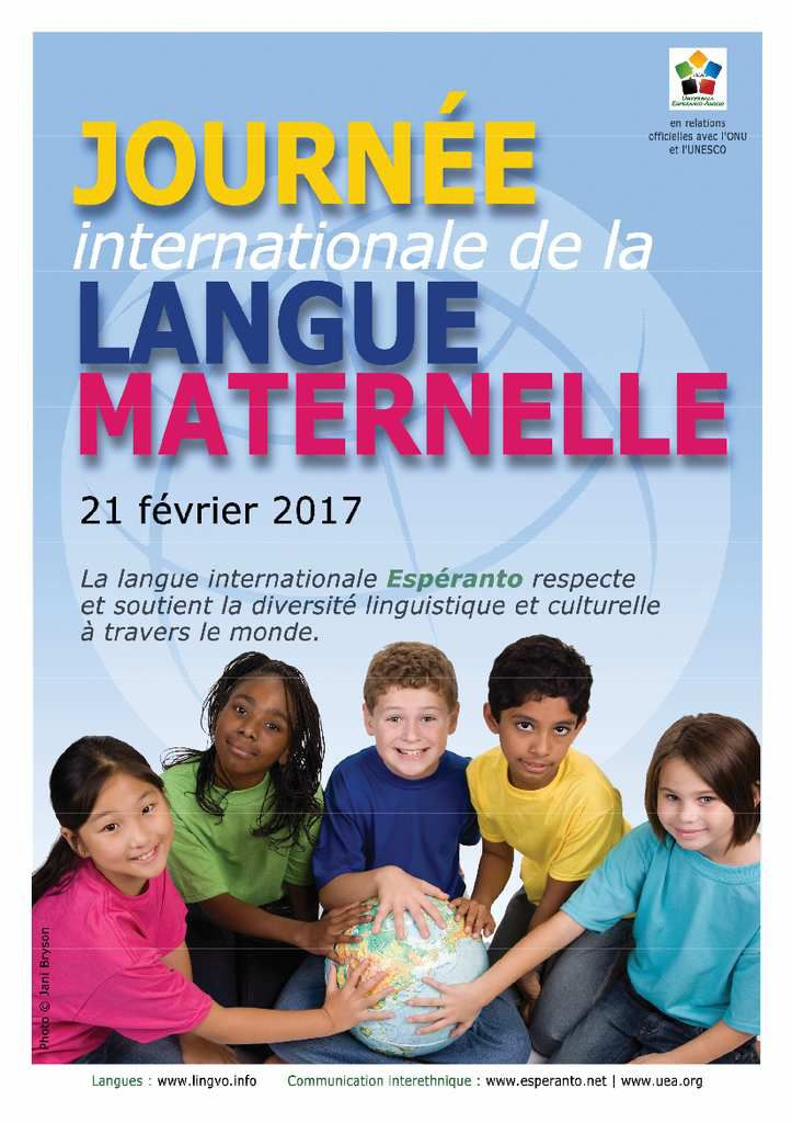 Journée internationale de la langue maternelle 21 fév. 2017