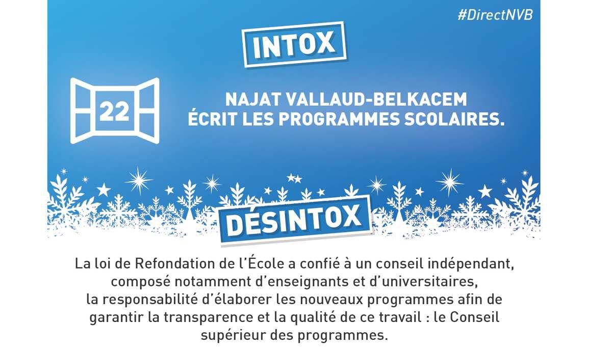 """Education - En """"Avent"""" pour la désintox... 22 et 23"""
