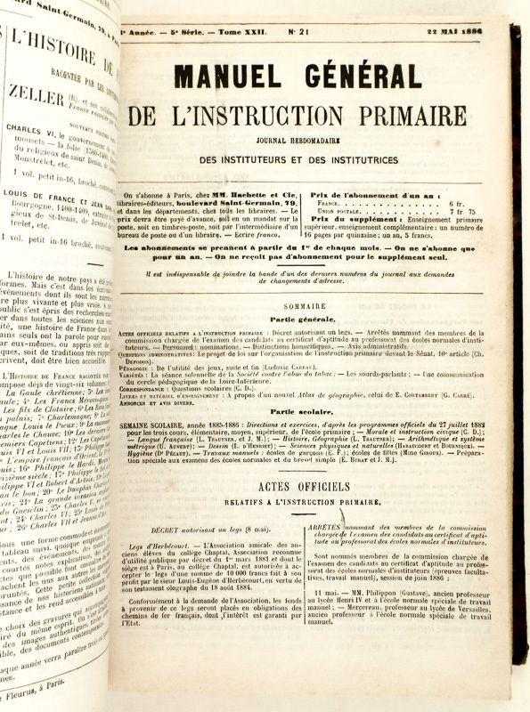 Instruction ou Education?... L'Ecole prisonnière de son Histoire...