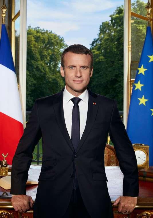 Macron... Lecture d'image...