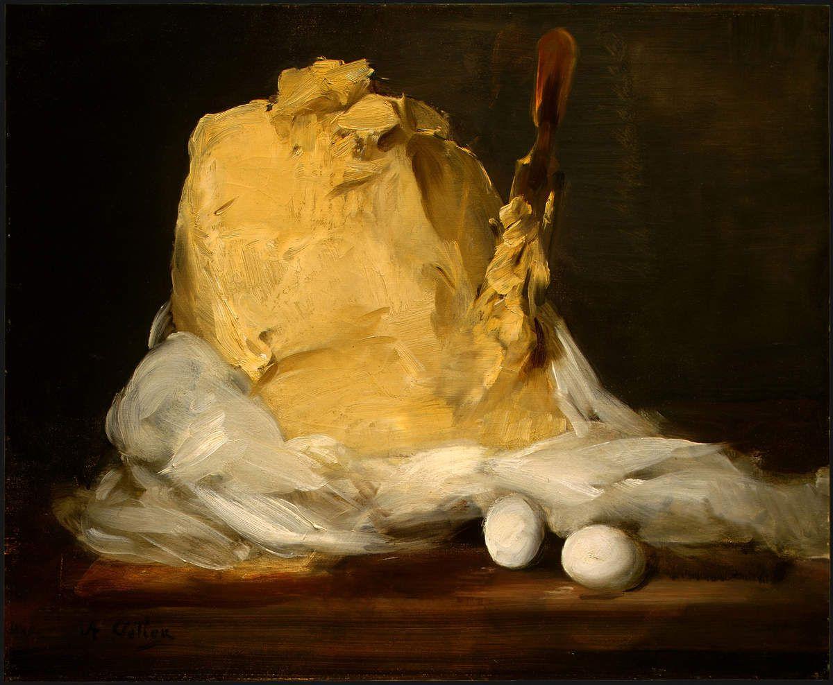 Antoine Vollon (1833–1900) - La motte de Beurre