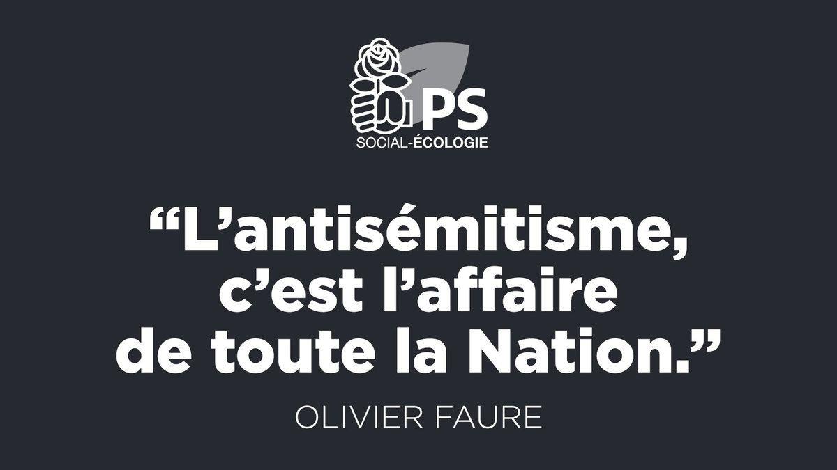Non à l'antisémitisme! Place de la République, mardi 19 février, à 19 heures. Soyons nombreux !