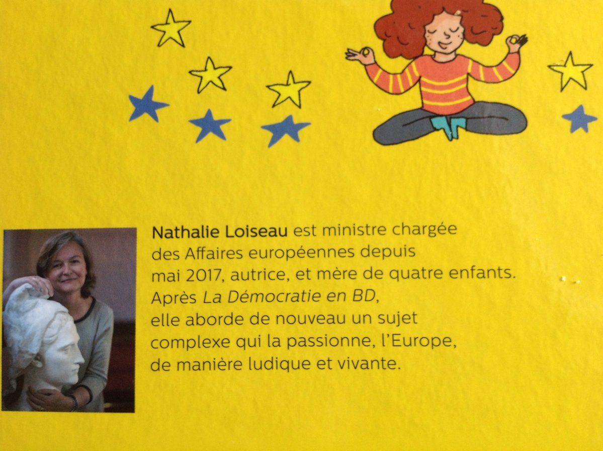 Quand Nathalie Loiseau parle de l'Europe aux enfants... Attention certaines images peuvent choquer...