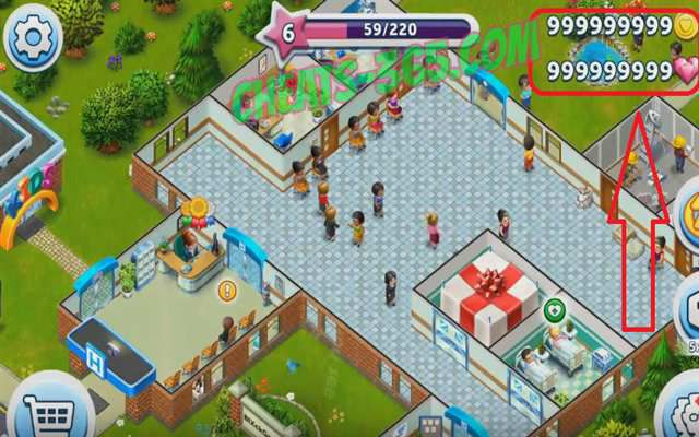 My Hospital Game Cheats iPhone iPad iOS Android - Ouija