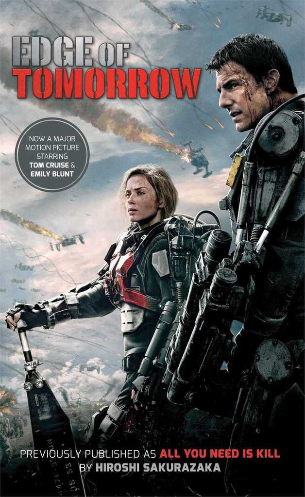 Edge of tomorrow - all you need is kill - couverture