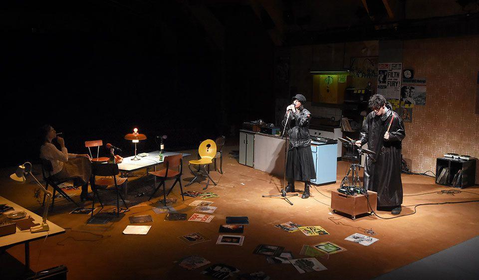 Les Ondes Magnétiques (David Lescot au théâtre du Vieux Colombier)
