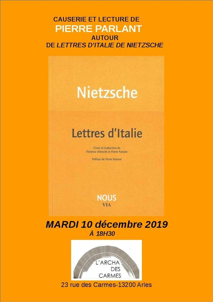 Lettres d'Italie (F.Nietzsche)
