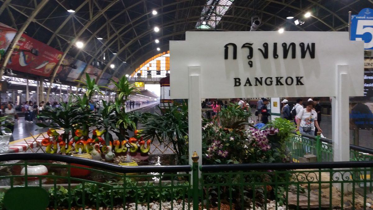 Thaïlande - Le voyage sur les rails