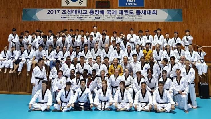 Taekwondo Corée du Sud 2017