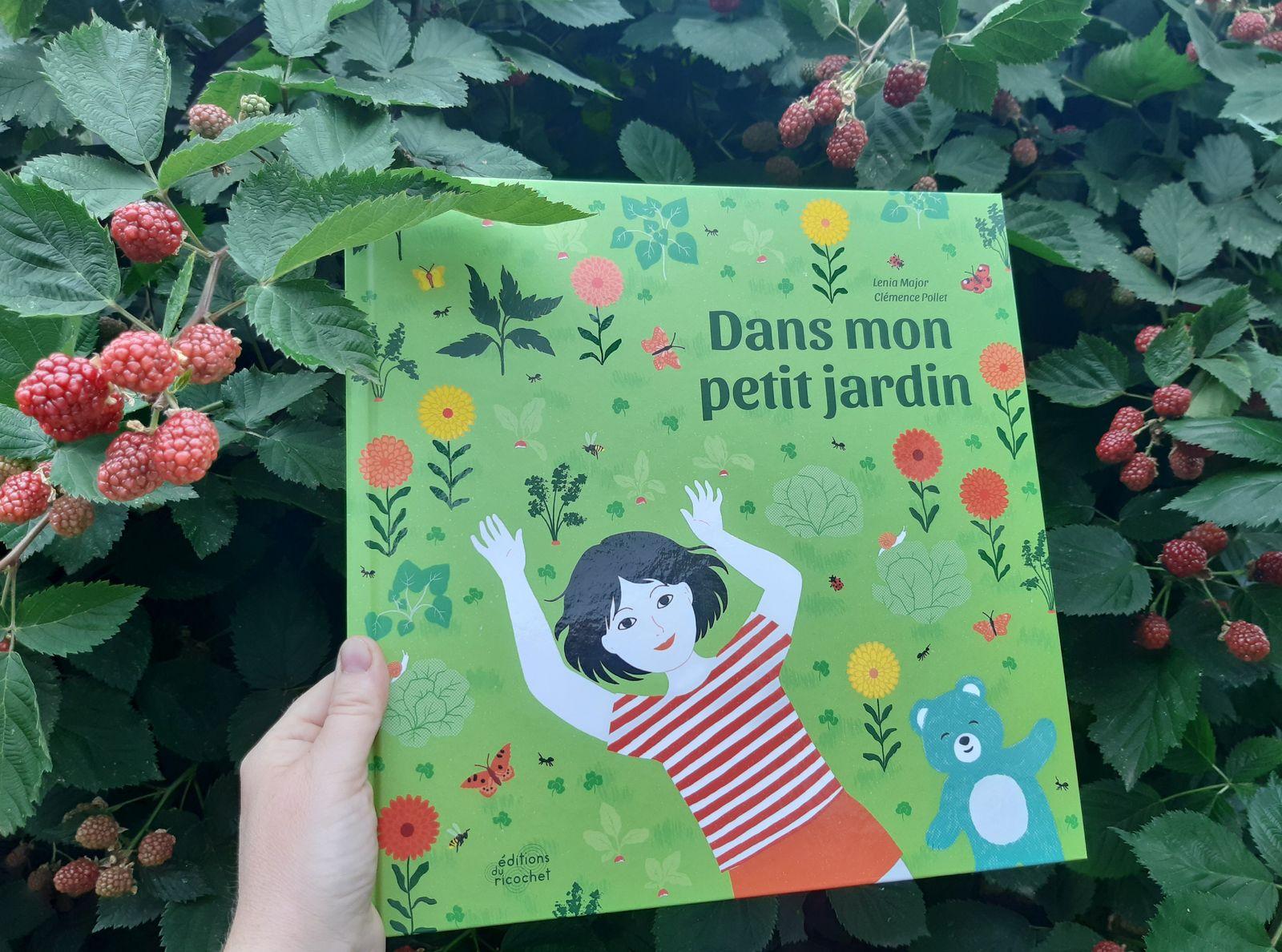 Dans mon petit jardin, aux Editions du Ricochet