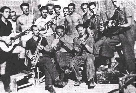 L'orchestre basque - camp de Gurs