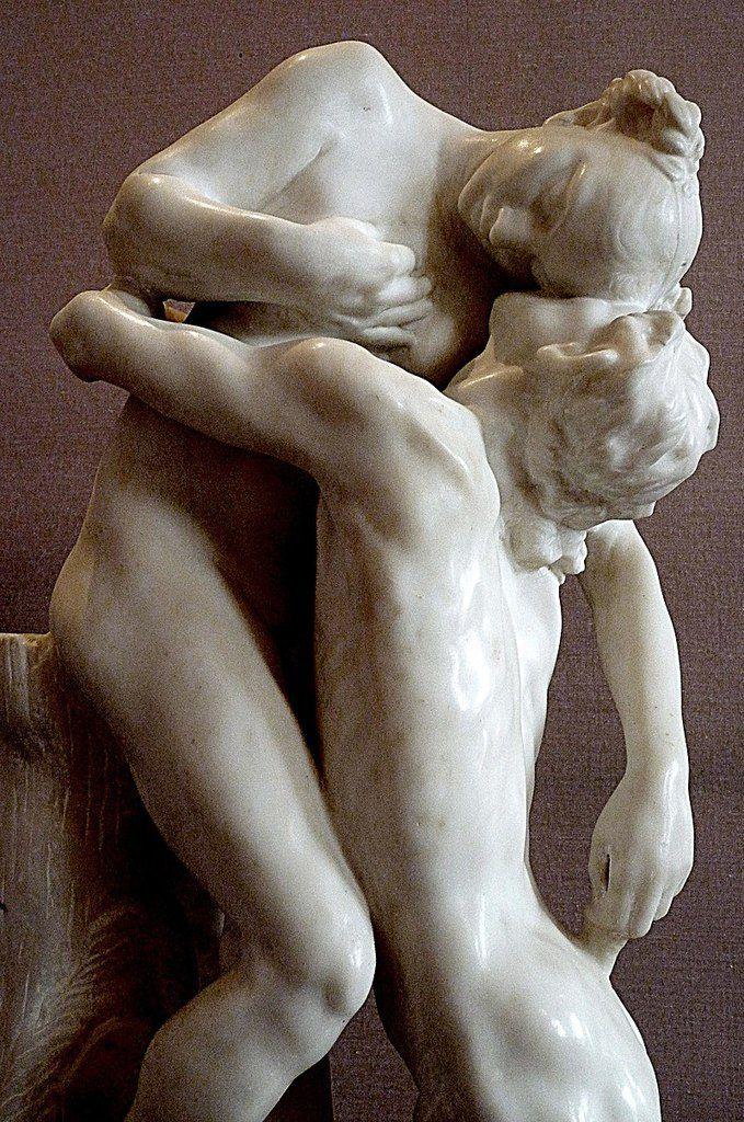 Camille Claudel, Sakuntala (1905, marbre, détail). Musée Rodin (Paris)