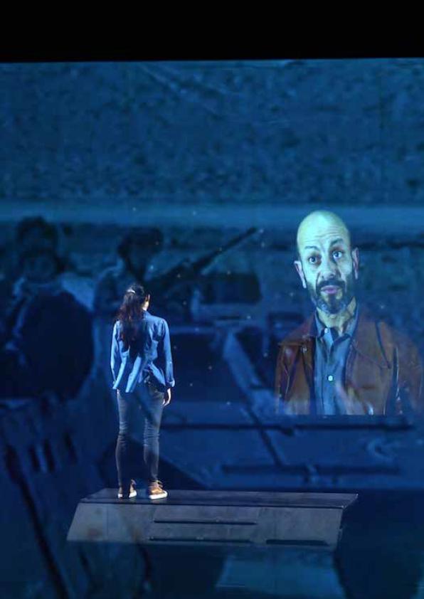 Le quatrième mur d'après Sorj Chalandon adaption Julien Bouffier
