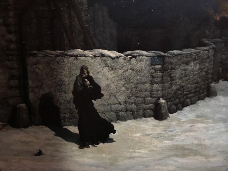 Gustave Doré, Sœur de la Charité sauvant un enfant : épisode du siège de Paris en 1870 (vers 1871, Le Havre, musée des Beaux-Arts André Malraux)