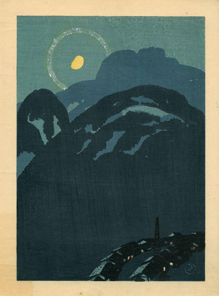Takeshima Yumeji, Automne à Kiso (1916)