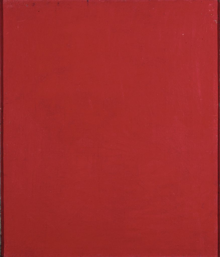 Alexandre Rodtchenko Pur rouge (triptyque Couleur unie) 1921 Moscou, collection privée © Adagp, Paris, 2019 / photo A. Rodchenko & V. Stepanova Archive