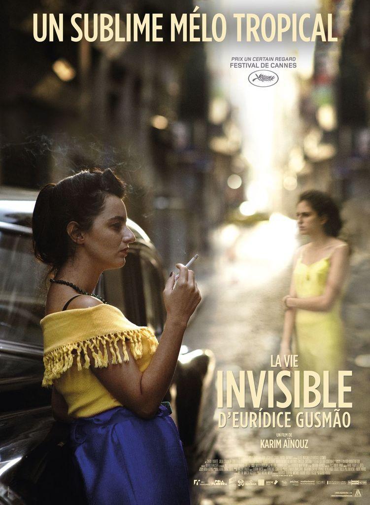 La vie invisible d'Eurídice Gusmão. Vous qui cheminez sans les voir…