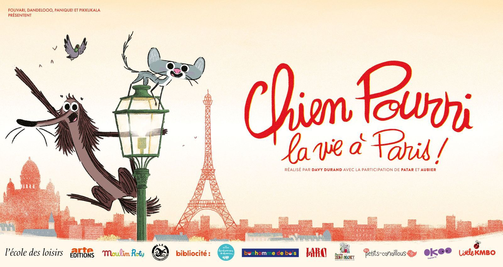 Chien pourri. Les aventures et les mésaventures d'un chien des rues et de ses amis à Paris.