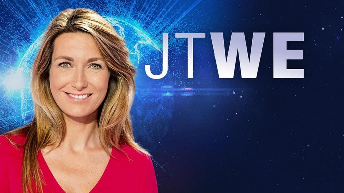 Le JT du week end 13h de TF1 du 23 avril