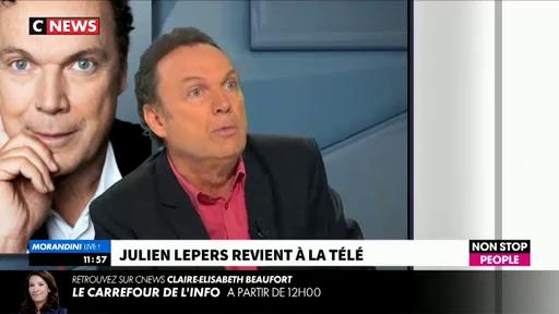 """Julien Lepers sera-t-il chroniqueur dans """"Touche pas à mon poste"""" sur C8 ? L'animateur répond !"""