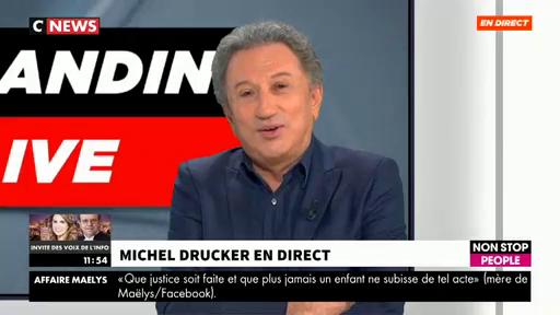 """Michel Drucker annonce en direct aux dirigeants d'Inter qu'il aimerait reprendre """"Radioscopie"""" de France Inter"""