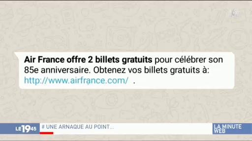 Air France offre des billets gratuit ? Attention à cette arnaque ingénieuse de pirates informatiques